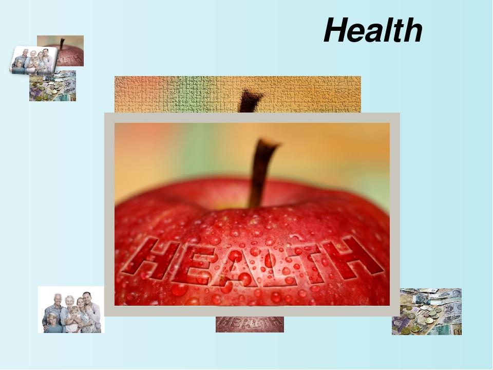Health Сначала учащиеся знакомятся с общим значением слов, которые используют...