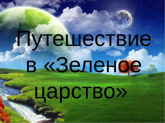 Путешествие в «Зеленое царство»