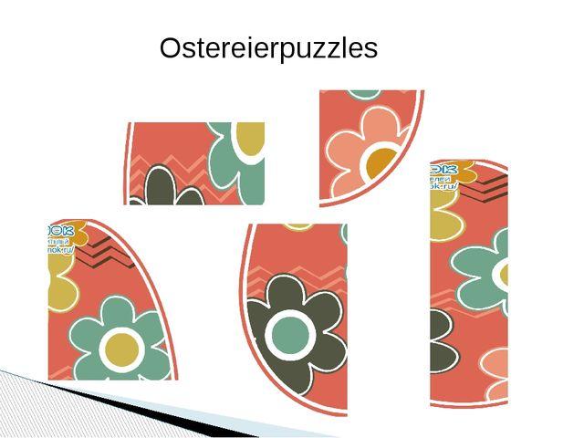 Ostereierpuzzles