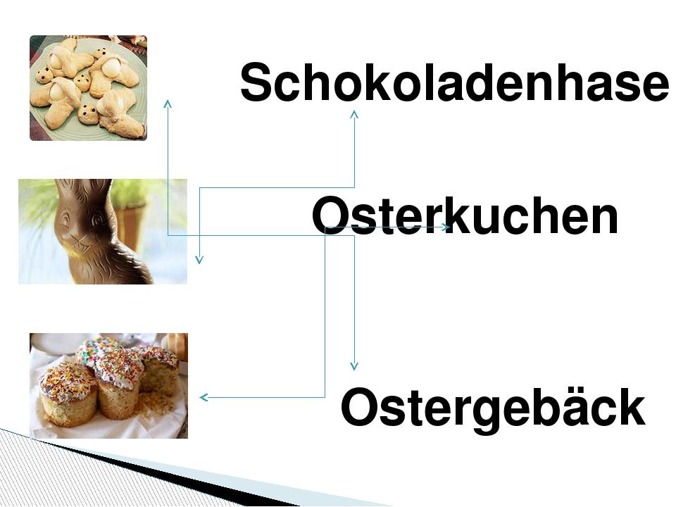 Schokoladenhase Osterkuchen Ostergebäck
