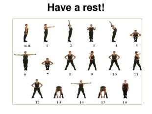 Have a rest!