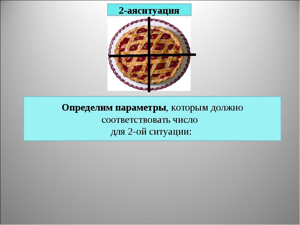 2-аяситуация Определим параметры, которым должно соответствовать число для 2-...