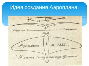 Идея создания Аэроплана.
