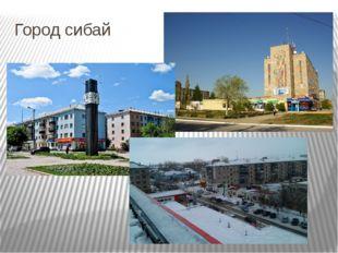 Город сибай