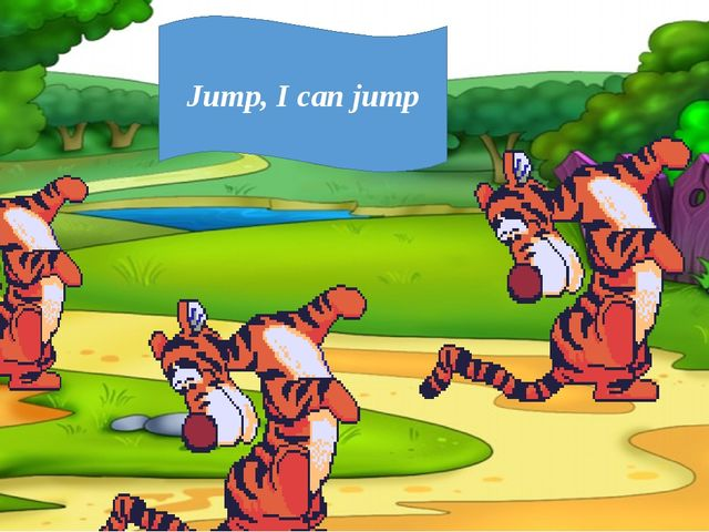 Jump, I can jump