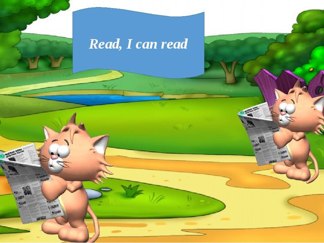 Read, I can read