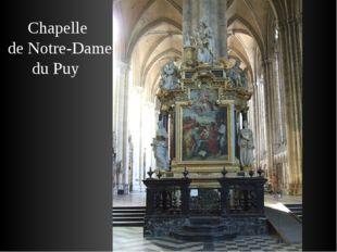 Chapelle de Notre-Dame du Puy