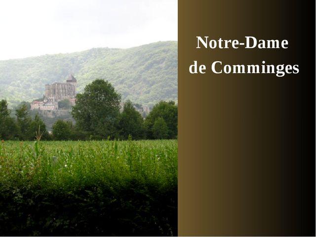 Notre-Dame de Comminges