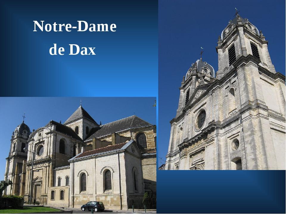 Notre-Dame de Dax