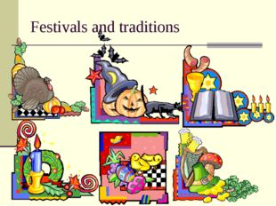 Festivals and traditions
