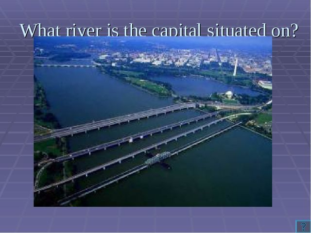 What river is the capital situated on?