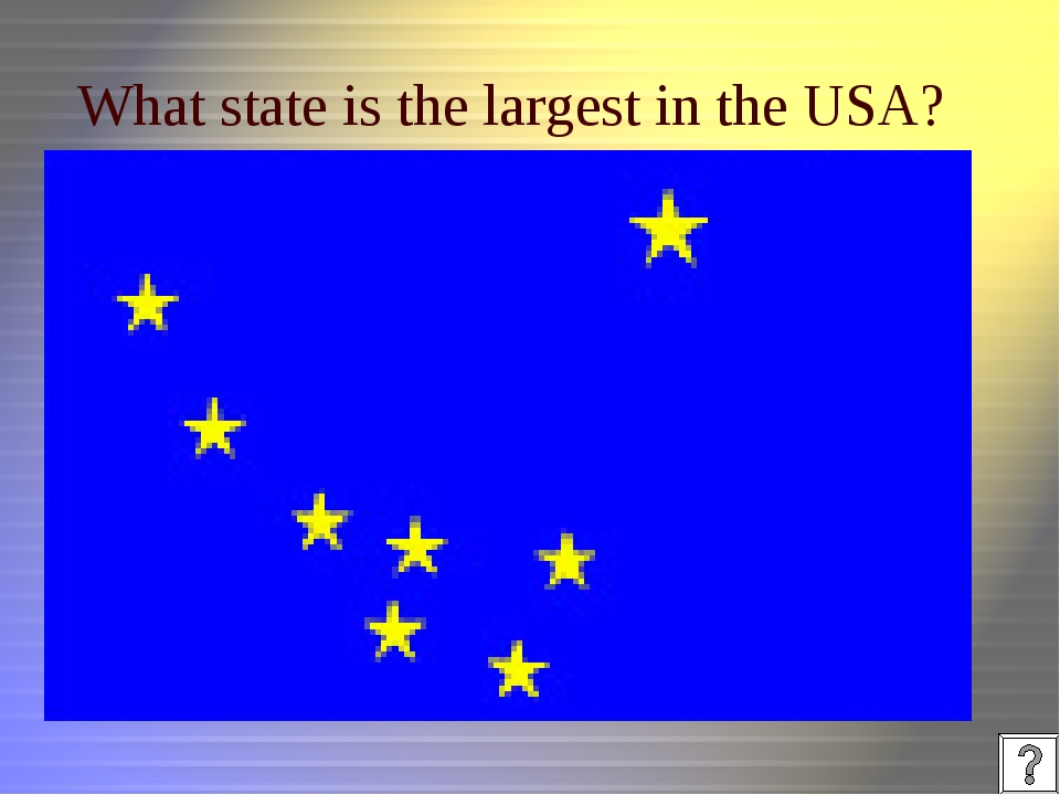What state is the largest in the USA?
