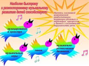 музыкально- ритмические движения музицирование в оркестре музыкальные игры Яв