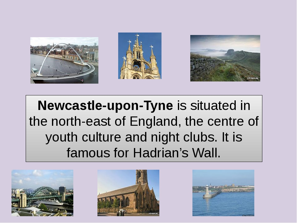 Newcastle-upon-Tyne is situated in the north-east of England, the centre of y...