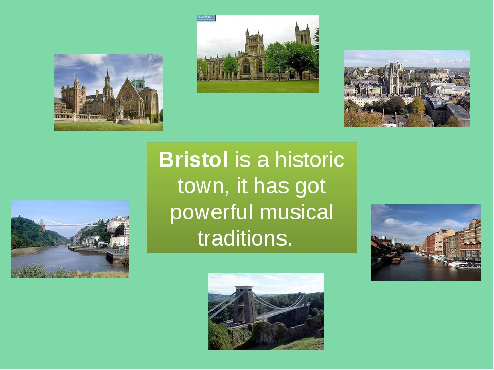 Bristol is a historic town, it has got powerful musical traditions.