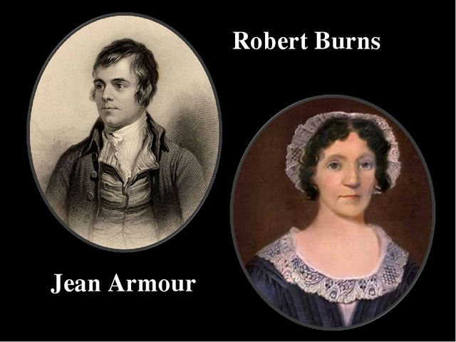 Robert Burns Jean Armour