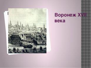 Воронеж XVII века