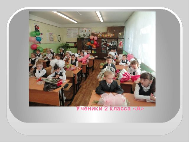Ученики 2 класса «А»