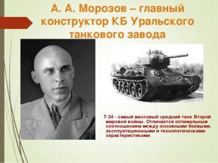 T-34 - самый массовый средний танк Второй мировой войны. Отличается оптималь
