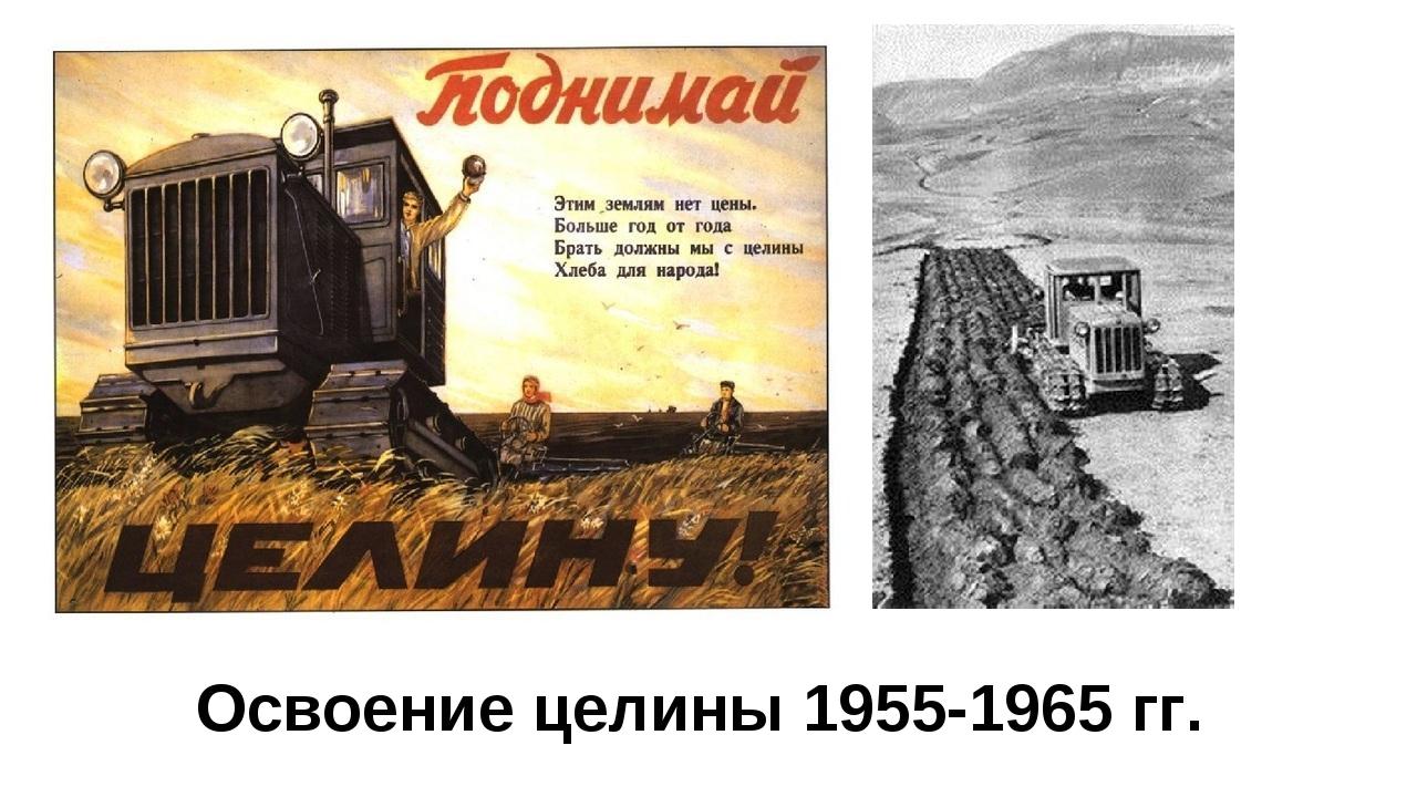 Освоение целины 1955-1965 гг.