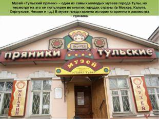 Музей «Тульский пряник» – один из самых молодых музеев города Тулы, но несмот