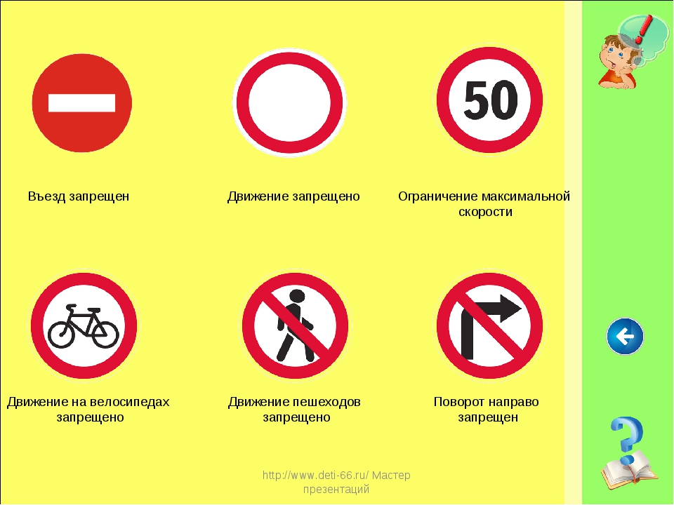 http://www.deti-66.ru/ Мастер презентаций Въезд запрещен Движение запрещено Д...