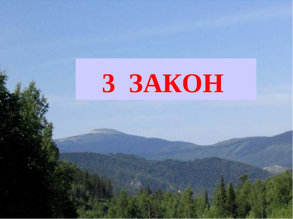 3 ЗАКОН
