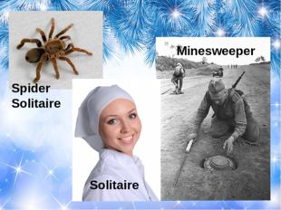 Solitaire Spider Solitaire Minesweeper