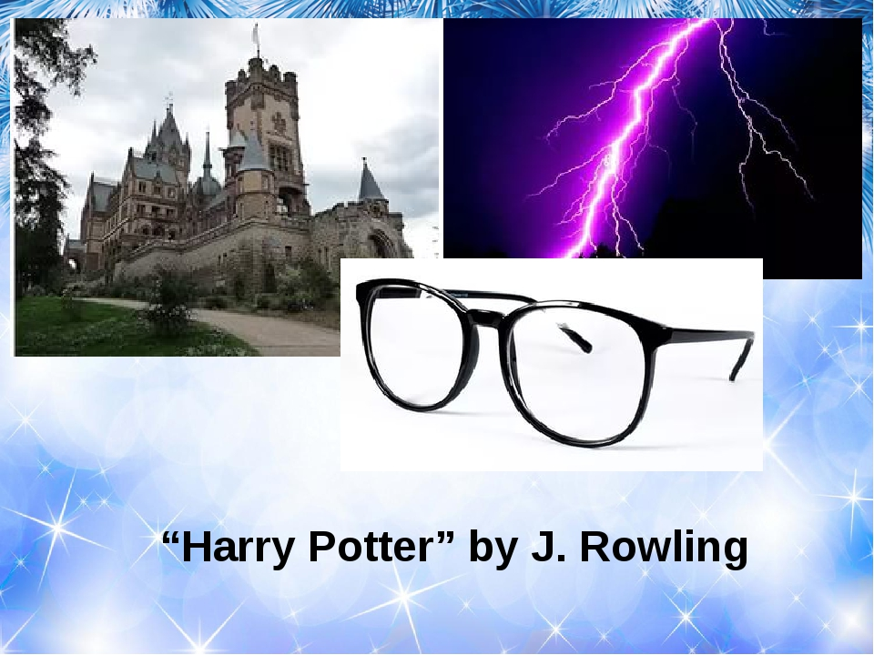 """""""Harry Potter"""" by J. Rowling"""