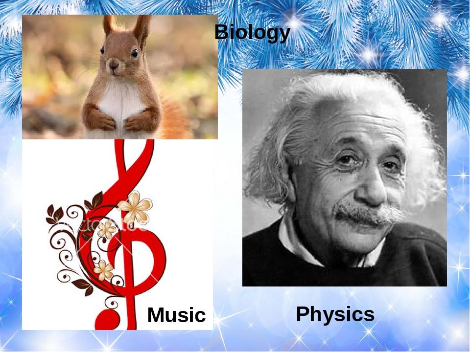 Biology Physics Music