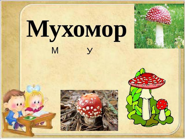 Мухомор М У
