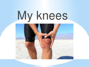 My knees