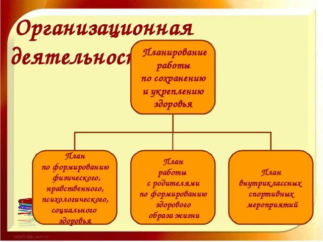 Организационная деятельность