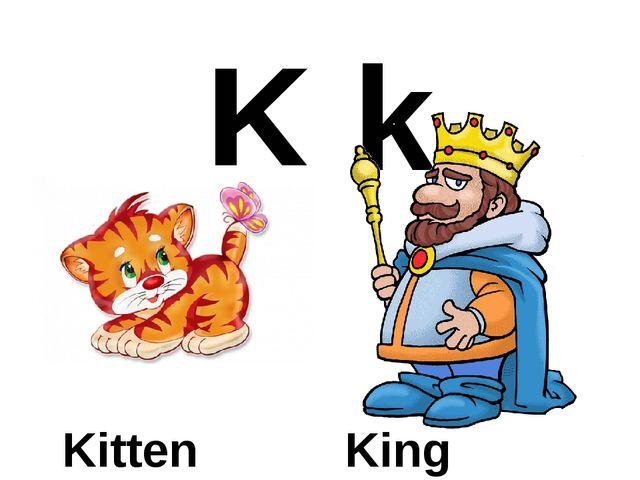 K k Kitten King