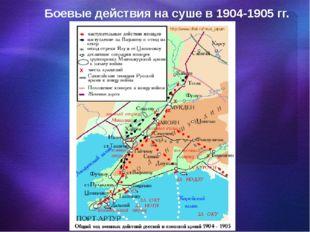 Боевые действия на суше в 1904-1905 гг.