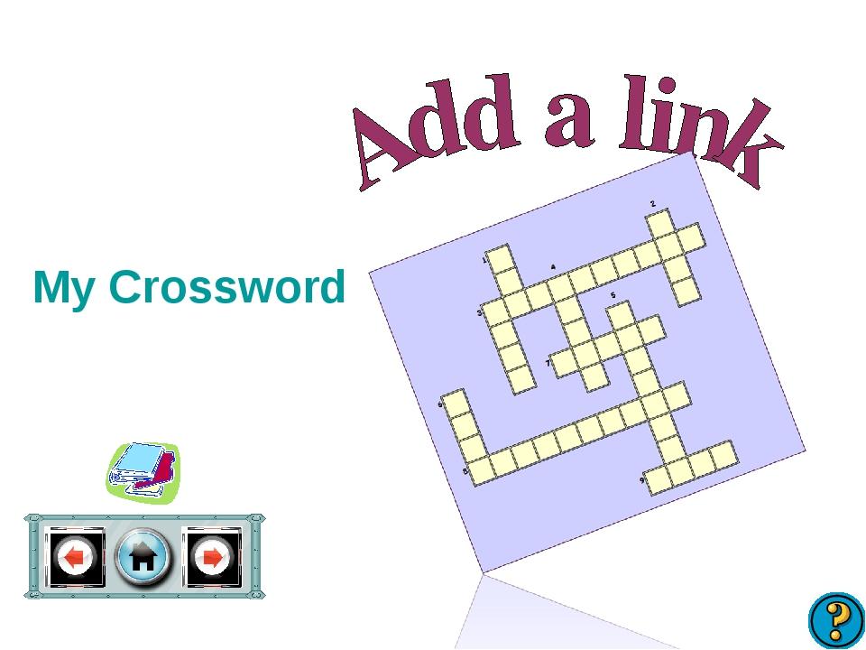 My Crossword