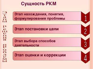 Сущность РКМ