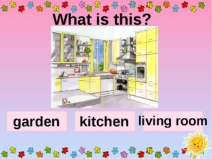 What is this? garden kitchen living room