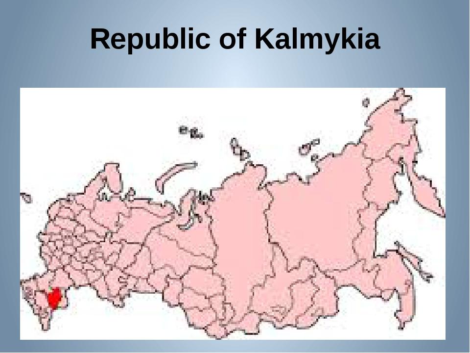 Republic of Kalmykia