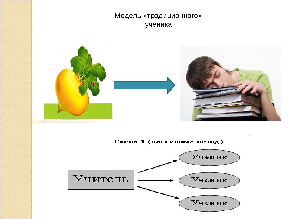 Модель «традиционного» ученика