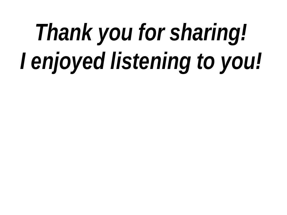 Thank you for sharing! I enjoyed listening to you!