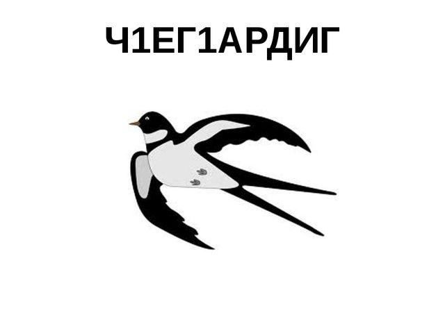 Ч1ЕГ1АРДИГ