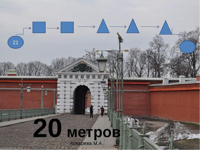 21 20 метров Кокарева М.А.