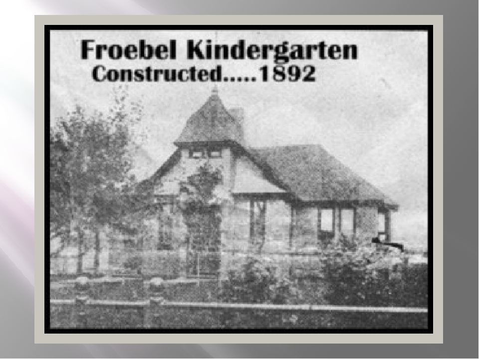 friedrich froebel founder of kindergarten essay