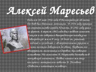 Родился 20 мая 1916 года в Волгоградской области. До Вов был военным летчико