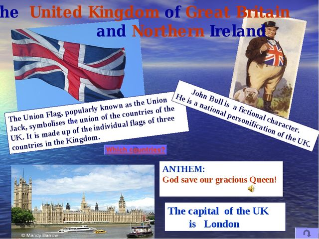 ANTHEM: God save our gracious Queen! The Union Flag, popularly known as the U...