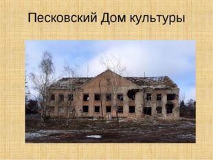 Песковский Дом культуры