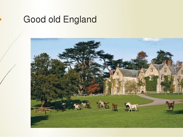 Good old England