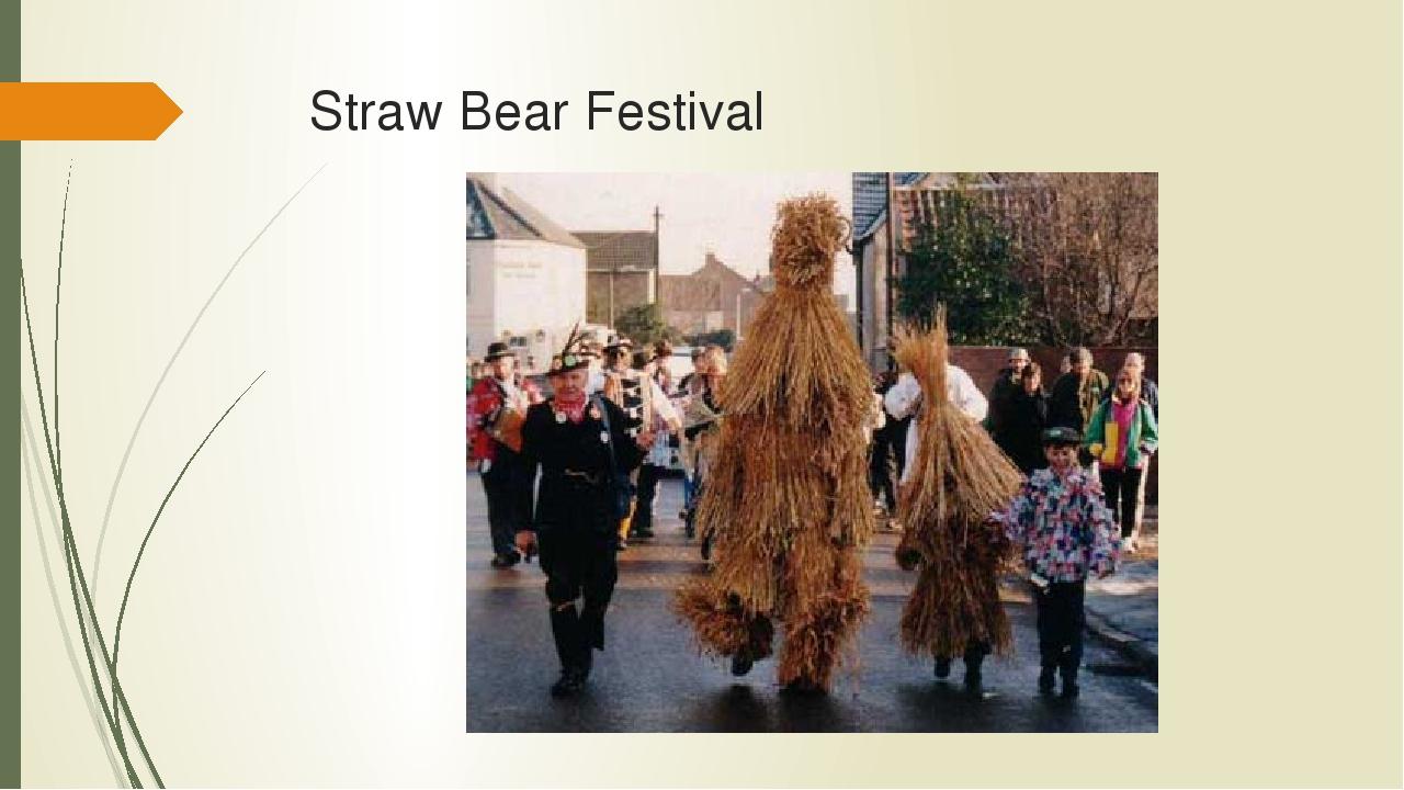 Straw Bear Festival