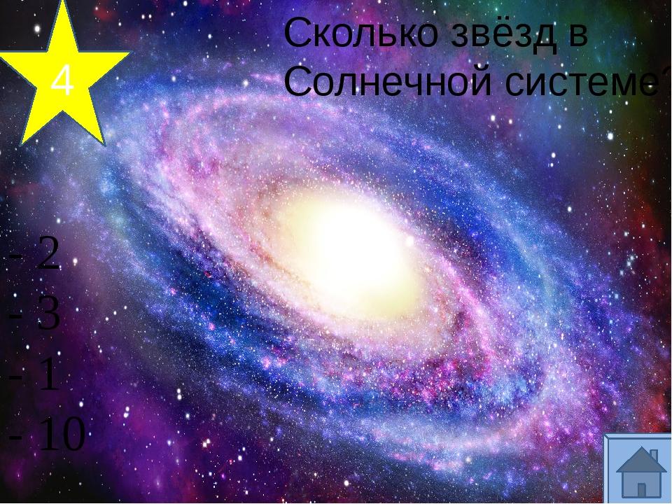 3 Название нашей Галактики? - Магеллановы Облака - Туманность Андромеды - Мл...